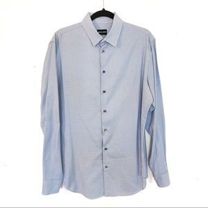 Giorgio Armani Checkered Dress Shirt 41/16